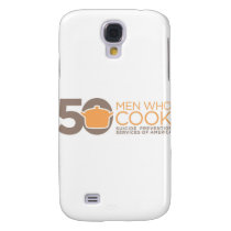 50 Men Who Cook Logo Apparel. Samsung Galaxy S4 Cover