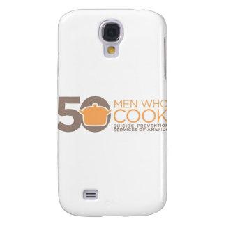 50 Men Who Cook Logo Apparel. Samsung Galaxy S4 Cover