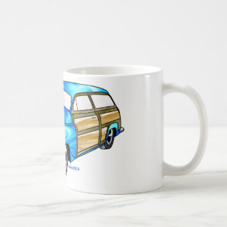 50 Mercury Woodie Coffee Mug