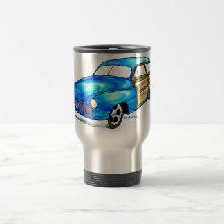50 Mercury Woodie 15 Oz Stainless Steel Travel Mug