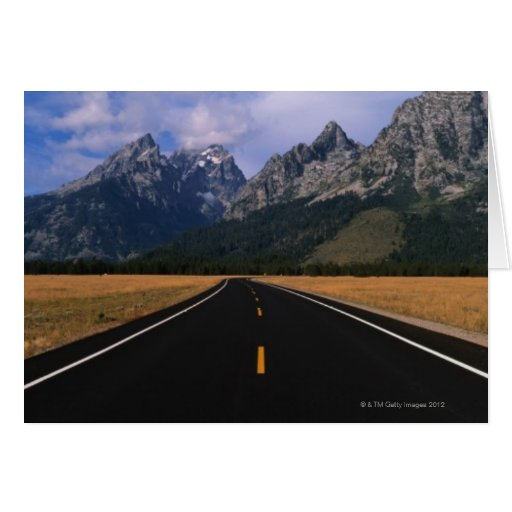 50 miles south of Yellowstone National Park, Card