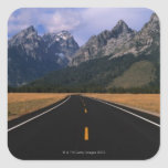 50 miles south of Yellowstone National Park, Square Sticker