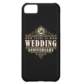 50.o Aniversario de boda Funda Para iPhone 5C