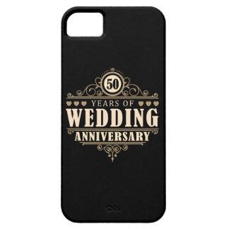 50.o Aniversario de boda Funda Para iPhone SE/5/5s