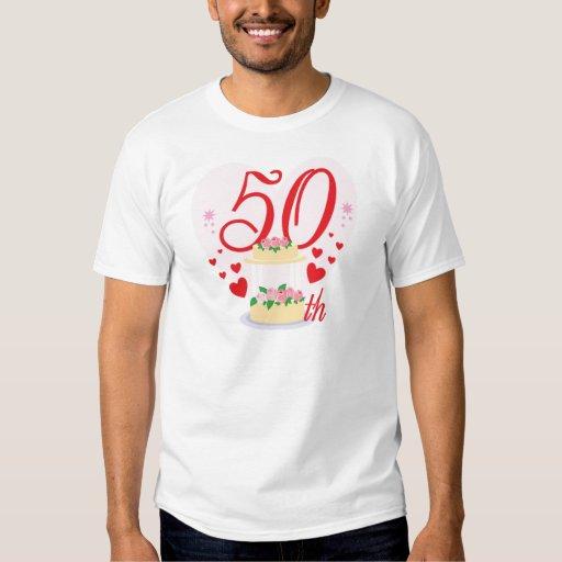 50.o aniversario de boda playeras