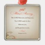 50.o Aniversario de boda, señor religioso Bless Adornos