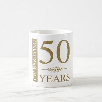50.o Aniversario de boda Taza De Café