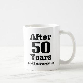 50.o Aniversario (divertido) Tazas De Café