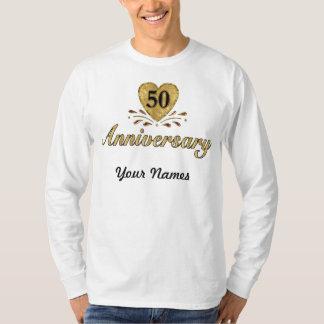 50.o aniversario - oro playera
