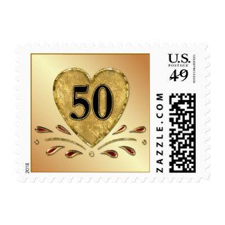 50.o aniversario - oro sellos