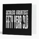 50.o Años más grandes del mundo del cumpleaños 50