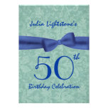 50.o Arco verde y azul W1469 de la fiesta de cumpl Anuncios Personalizados
