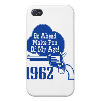 50.o Birthday, 1962 iPhone 4/4S Fundas