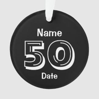 50.o blanco personalizado del negro del regalo de