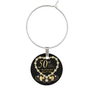 50.o Boda del aniversario Identificadores De Copas