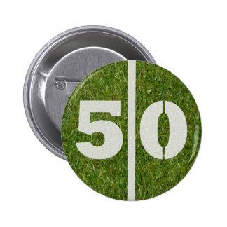 50.o Botón de la yarda del cumpleaños
