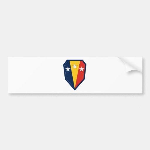 50.o Brigada de la infantería Pegatina De Parachoque