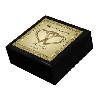50.o Caja de regalo del aniversario de boda