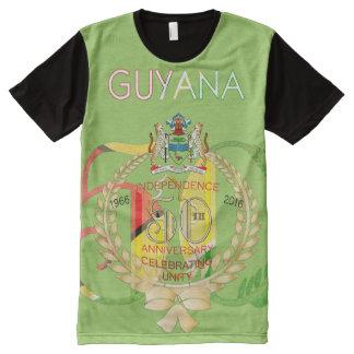 50.o Camiseta de guyanés del aniversario de la