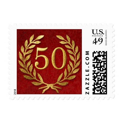 50.o Celebración del aniversario Sellos