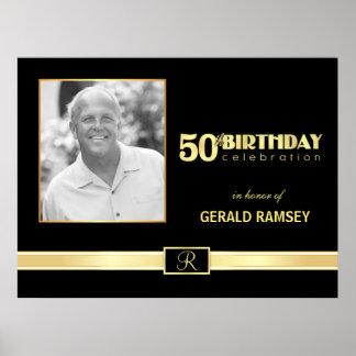 50.o Celebración del cumpleaños - poster de encarg
