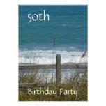 50.o Celebración-Océano/varón del cumpleaños Anuncios