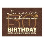 50.o Chocolate y oro W044A del cumpleaños de la SO Comunicado