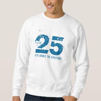 50.o cumpleaños - 25 con el doble la experiencia suéter
