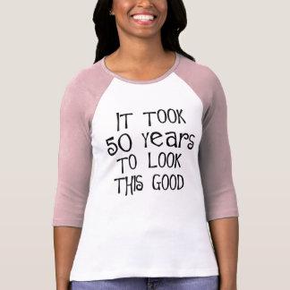¡50.o cumpleaños, 50 años para mirar esto bueno! camisetas