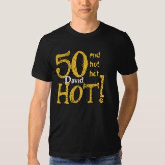 50.o ¡Cumpleaños 50 y caliente caliente caliente! Poleras