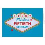 50.o cumpleaños de Las Vegas Tarjeton