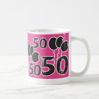 50.o cumpleaños del ROSA y del NEGRO - 50 años de Taza