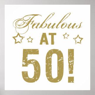 50.o cumpleaños fabuloso póster