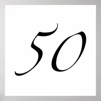 50.o Cumpleaños Impresiones