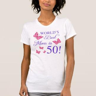 50.o Cumpleaños para la mamá Playeras