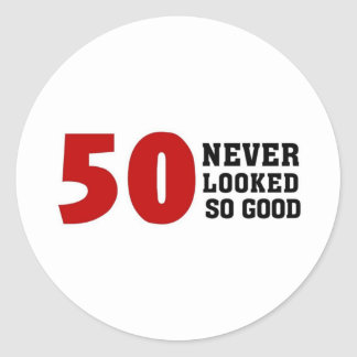 50 o Cumpleaños Pegatina
