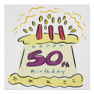 50.o Cumpleaños Póster