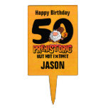 50.o cumpleaños prehistórico figura de tarta
