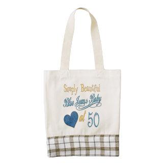 50.o cumpleaños simplemente hermoso bolsa tote zazzle HEART