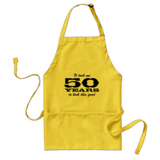 50.o Delantales del Bbq del cumpleaños para el