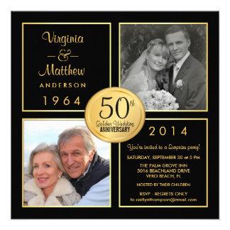 50 o Fiesta de sorpresa del aniversario de boda de