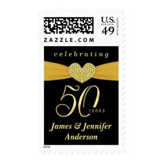 50.o Franqueo de la fiesta de aniversario del boda