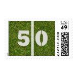 50.o Franqueo de la yarda del fútbol de la yarda