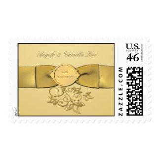 50 o Franqueo del oro del aniversario