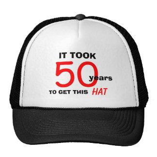 50.o Gorra de los regalos de la mordaza del