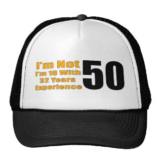 50.o gorra divertido del cumpleaños