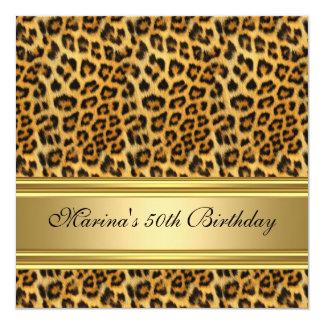 50.o guepardo elegante del oro del negro de la comunicados personales