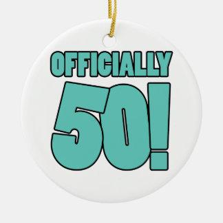 50.o Humor del cumpleaños Ornamento Para Reyes Magos