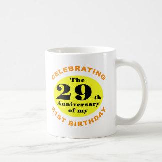 50.o Humor del cumpleaños Tazas