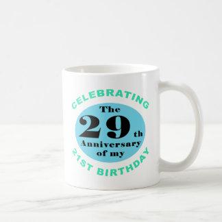 50 o Humor del cumpleaños Tazas